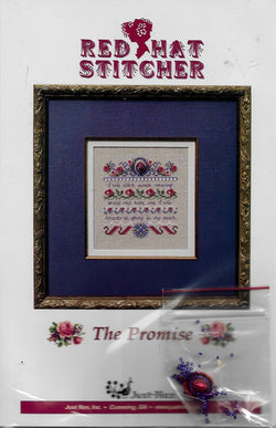 Just Nan The Promise Red Hat Society cross stitch pattern