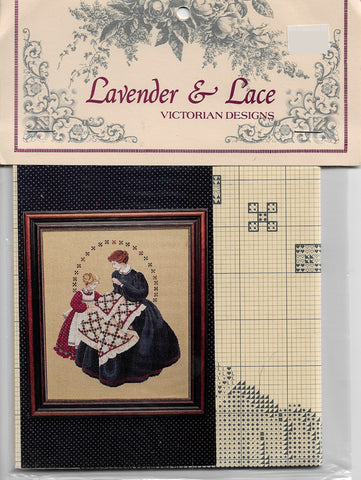 Lavender & Lace The QUiltmaker L&L27 cross stitch pattern