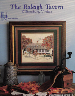 Ronnie Rowe The Raleigh Tavern  Williamsburg, Virginia cross stitch pattern
