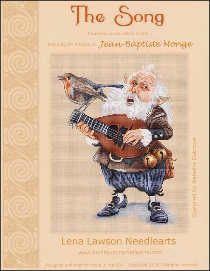 Lena Lawson The Song OOP by Jean-Baptiste Monge cross stitch pattern