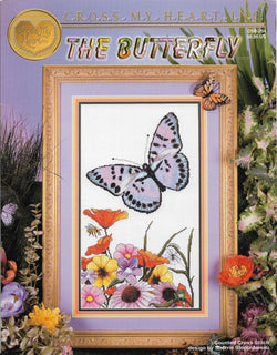 Cross My Heart The Butterfly CSB-254 cross stitch pattern