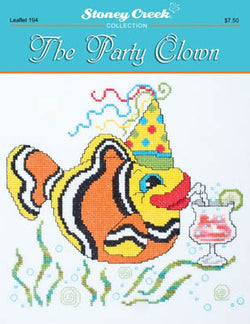 Stoney Creek The Party Clown LFT194 cross stitch booklet