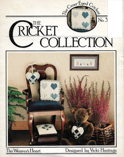 Cricket Collection The Weaver's Heart cross stitch pattern
