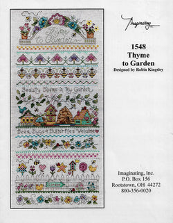 Imaginating Thyme to Garden cross stitch pattern