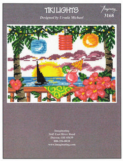 Imaginating Tiki Lights 3168 cross stitch pattern