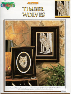 Color Charts Timber Wolves cross stitch pattern