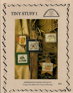 Homespun Elegance Tiny Stuff 1 cross stitch pattern