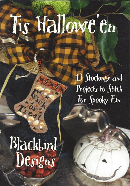 Blackbird Designs Tis Halloween cross stitch pattern