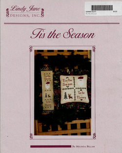 Lindy Jane Designs Tis the Season cross stitch pattern