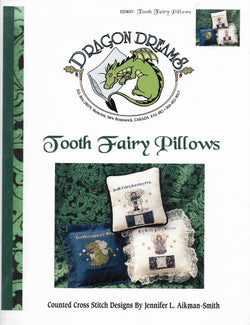 Dragon Dreams Tooth Fairy Pillows cross stitch pattern