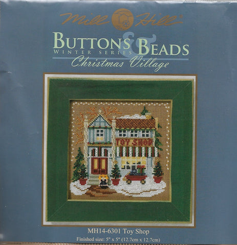 Mill Hill Toy Shop beaded cross stitch kit MH14-6301