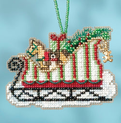 Mill Hill Toyland Sleigh Christmas beaded Kit MH16-1733