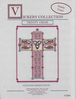 Vickery Collection trinity Cross celtic cross stitch pattern