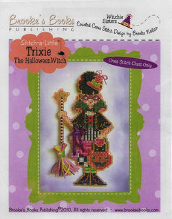 Trixie the Halloween Witch pattern