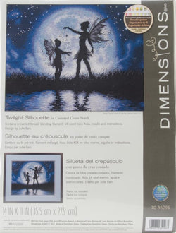 Dimensions Twilight Silhouette cross stitch kit