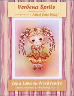 Lena Lawson Verbena Sprite cross stitch pattern