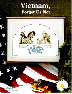 "Brittany Inspirations ""Forget Us Not"" Vietnam cross stitch pattern"