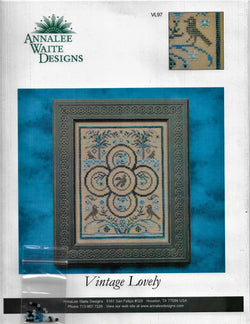 Anaalee Waite Vintage Lovely cross stitch pattern