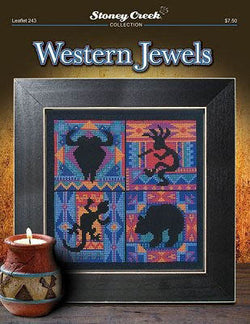 Stoney Creek Western Jewels BK243 cross stitch pattern