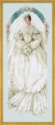 Lavender & Lace White Lace L&L40 cross stitch pattern