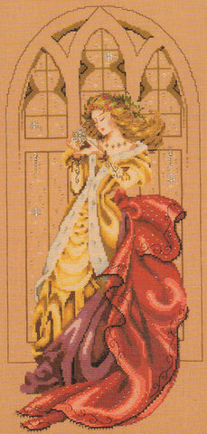 Mirabilia White Christmas Nora Corbett MD-90 cross stitch pattern