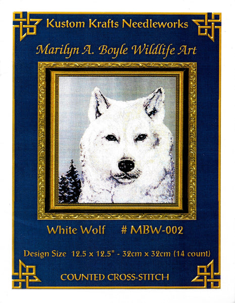 kustom Kraft White Wolf MBW-002 cross stitch pattern