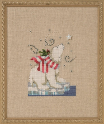 Nora Corbett Winter Bear  NC278 cross stitch pattern