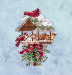 Mill Hill Winter Feast 18-2032 beaded cross stitch kit