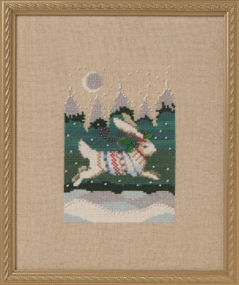 Nora Corbett Winter Hare NC277 cross stitch pattern
