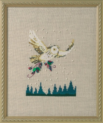 Nora Corbett Winter Owl NC275 cross stitch pattern