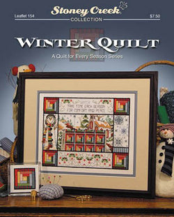 Stoney Creek Winter Quilt LFT154  cross stitch booklet