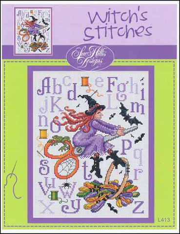 Sue Hillis Witch's Stitches cross stitch pattern