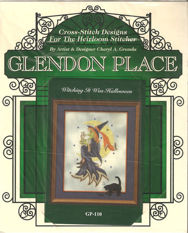 Glendon Place Witching it was halloween GP-110 cross stitch pattern