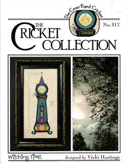 Cricket Witching Time CC317 halloween cross stitch pattern