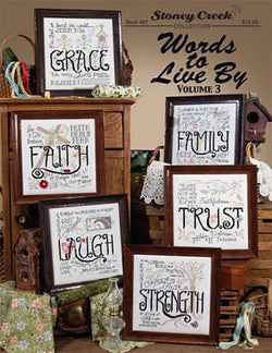 Words to Live By 2 pattern