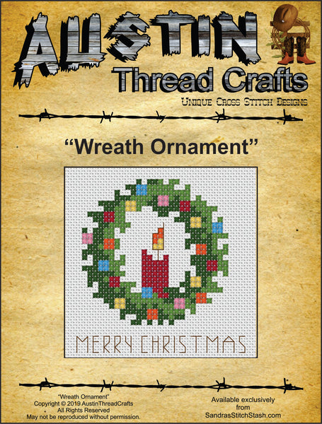 Wreath Ornament pattern