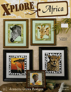 Jeanette Crew Designs X-plore Africa cross stitch pattern