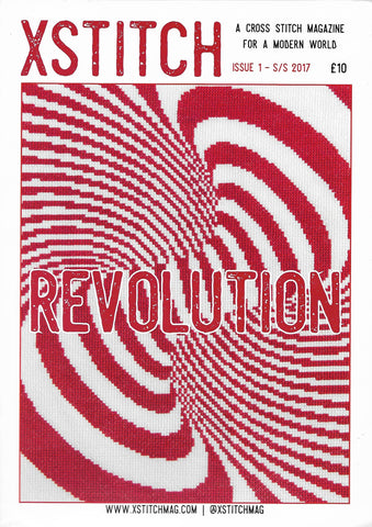XSTITCH MAG Vol 1 Revolution magazine