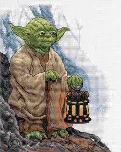 Dimensions Yoda Star Wars cross stitch kit