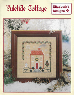 Elizabeth Designs Yultide Cottage Christmas cross stitch pattern