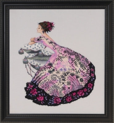 Mirabilia Zelda MD161 victorian cross stitch