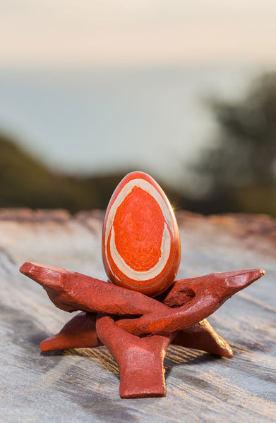 "Red Jasper ""The Stone of Vibrancy"" - GIA certified"