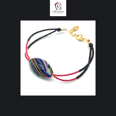 "Bracelet ""Rainbow"" - Oblongue"
