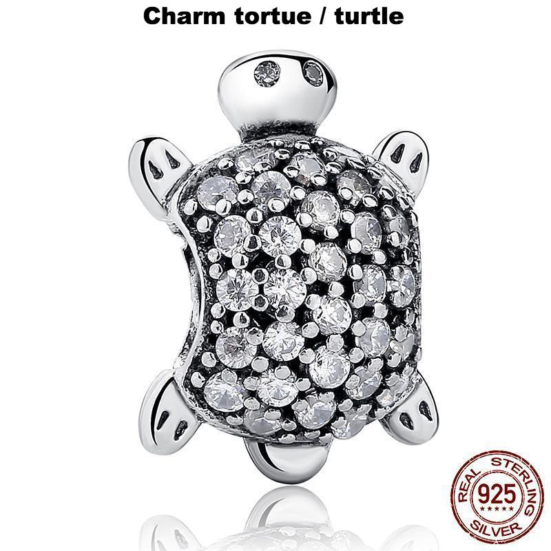 Charm Tortue Argent Sterling 925