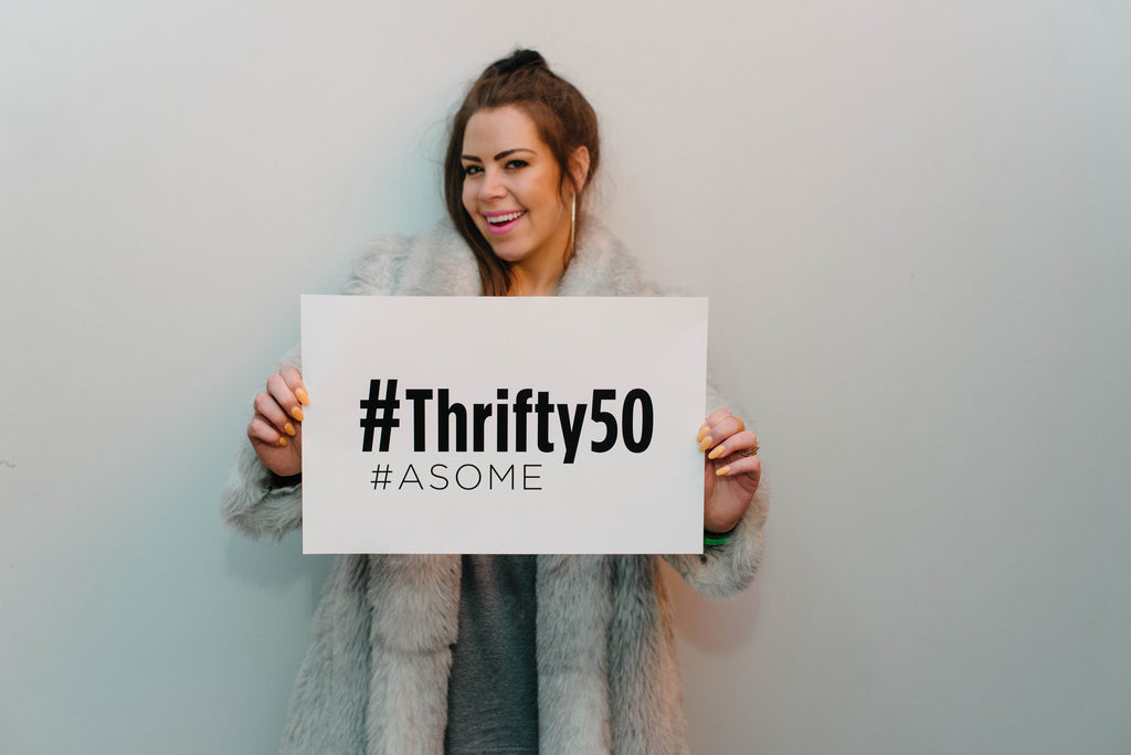 #Thrifty50 Pledge 🌎🌎🌎