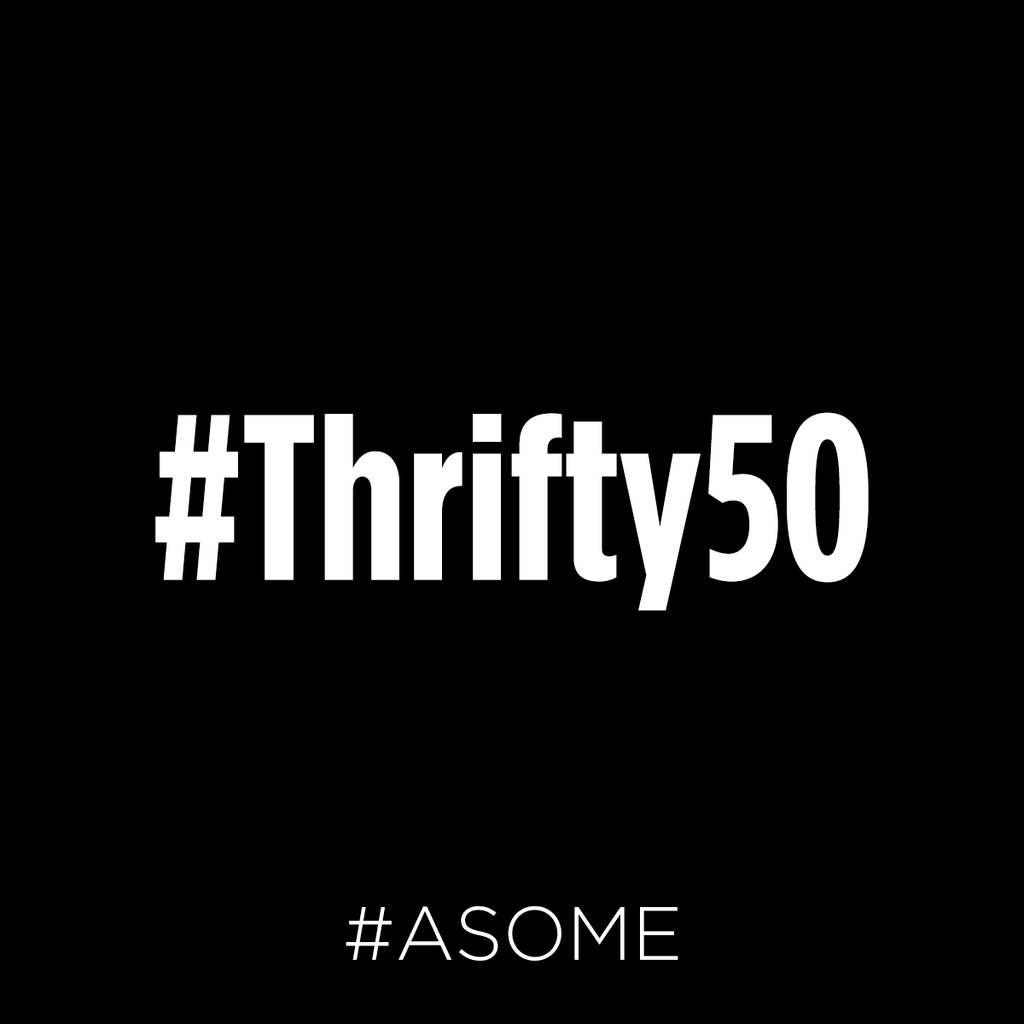 #Thrifty50 is BACK