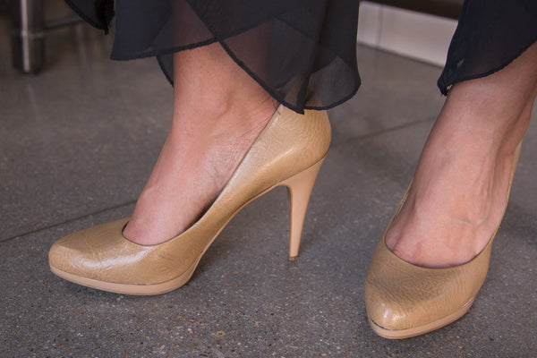 Go Nude Pumps