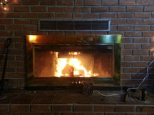 3Q Cozy Grate Fireplace Heater with Built-In Fire Back