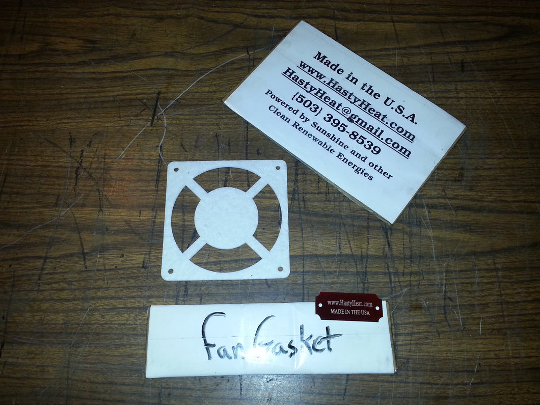 Replacement 120 mm High Temp Fan Gasket Die Cut Thermal Shield Seal