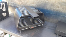 "16RC 24~44W14~24T (28"") RIB CAGE, Double Sided Fireplace Grate Heat Exchanger with Blower"